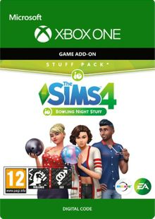 The sims 4: Bowling Night Stuff Xbox One cheap key to download