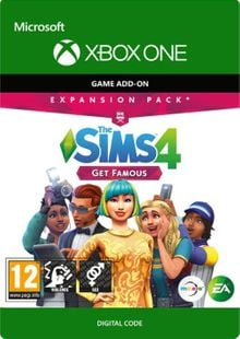 The Sims 4 Get Famous Expansion Pack Xbox One cheap key to download