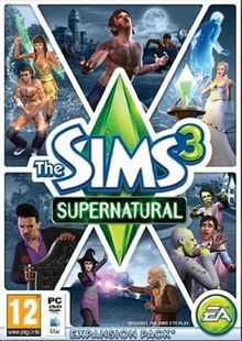 Die Sims 3: Supernatural Mac / PC billig Schlüssel zum Download