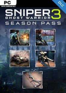 Sniper Ghost Warrior 3 - Season Pass PC cheap key to download