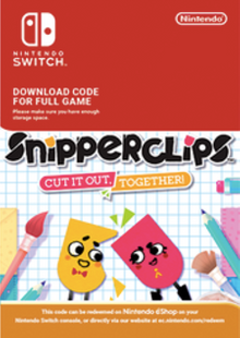 SnipperClips Cut It Out Together Switch clé pas cher à télécharger