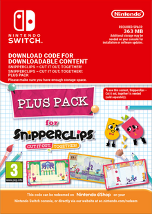 Snipperclips - Cut it out Together Plus Pack Switch billig Schlüssel zum Download