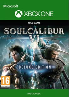 Soulcalibur VI 6 Deluxe Edition Xbox One billig Schlüssel zum Download