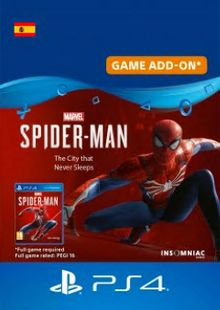 Marvels Spider-Man The City That Never Sleeps PS4 (Spain) cheap key to download