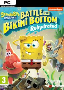 SpongeBob SquarePants: Battle for Bikini Bottom - Rehydrated PC + DLC cheap key to download