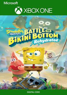 SpongeBob SquarePants: Battle for Bikini Bottom - Rehydrated Xbox One (UK) cheap key to download