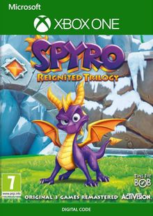 Spyro Reignited Trilogy Xbox One (UK) cheap key to download