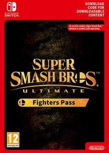 Super Smash Bros. Ultimate Fighter Pass Switch cheap key to download