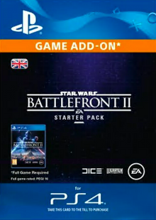Star Wars Battlefront 2 Starter Pack PS4 billig Schlüssel zum Download