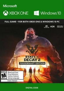 State of Decay 2: Juggernaut Edition Xbox One (UK) cheap key to download