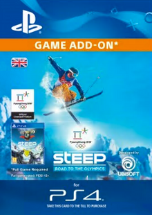 Steep: Road to the Olympics PS4 cheap key to download