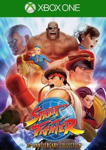 Street Fighter 30th Anniversary Collection Xbox One (UK) cheap key to download