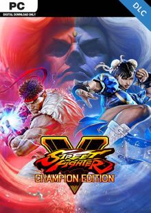 Street Fighter V 5 PC - Champion Edition Upgrade Kit DLC cheap key to download