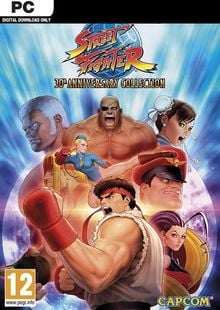 Street Fighter 30th Anniversary Collection PC clé pas cher à télécharger