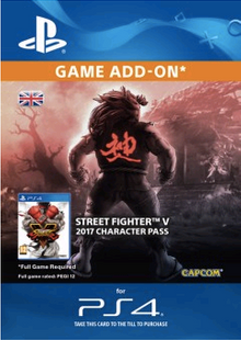 Street Fighter V 5 - Character Pass PS4 cheap key to download