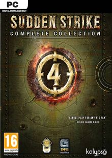 Sudden Strike 4 Complete Collection PC cheap key to download