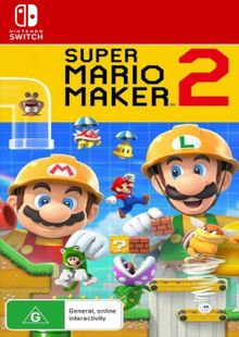 Super Mario Maker 2 Switch billig Schlüssel zum Download