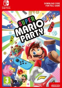 Super Mario Party Switch (EU) billig Schlüssel zum Download