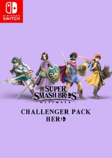 Super Smash Bros Ultimate - Hero Challenger Pack Switch cheap key to download