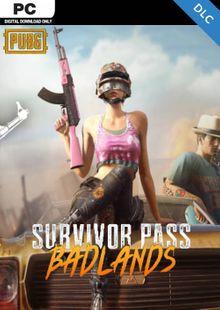 PlayerUnknowns Battlegrounds (PUBG) PC Survivor Pass 5: Badlands DLC clé pas cher à télécharger