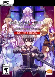 SWORD ART ONLINE Alicization Lycoris Deluxe PC cheap key to download