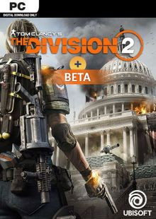 Tom Clancys The Division 2 PC + Beta cheap key to download