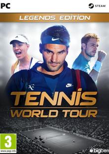 Tennis World Tour Legends Edition PC billig Schlüssel zum Download