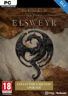 The Elder Scrolls Online - Elsweyr Collectors Edition Upgrade PC cheap key to download