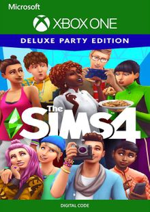 The Sims 4 Deluxe Party Edition Xbox One (US) cheap key to download