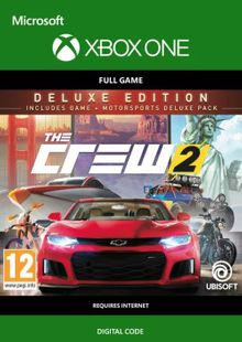 The Crew 2 - Deluxe Edition Xbox One (UK) billig Schlüssel zum Download