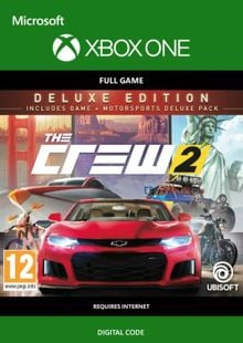 The Crew 2 - Deluxe Edition Xbox One (UK) cheap key to download