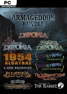 The Daedalic Armageddon Bundle PC cheap key to download