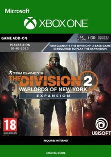 The Division 2 - Warlords of New York Xbox One cheap key to download