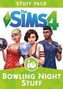 The Sims 4 - Bowling Night Stuff PC cheap key to download
