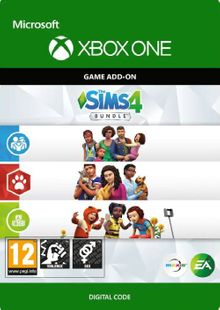 The Sims 4 Bundle - Cats & Dogs, Parenthood, Toddler Stuff Xbox One (UK) cheap key to download