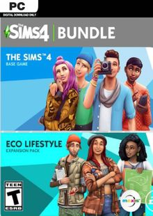 The Sims 4 - Eco Lifestyle Bundle PC cheap key to download