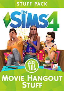 The Sims 4 - Movie Hangout Stuff PC clé pas cher à télécharger