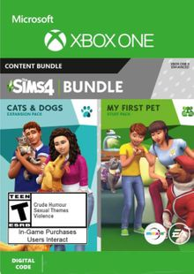 The Sims 4 - Cats & Dogs + My First Pet Stuff Bundle Xbox One (UK) cheap key to download