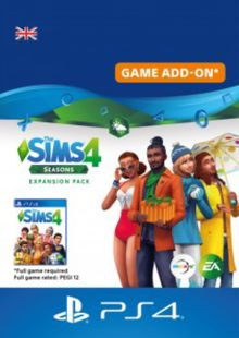 The Sims 4 Seasons Expansion PS4 cheap key to download