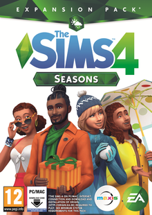 The Sims 4 - Seasons Expansion Pack PC chiave a buon mercato per il download