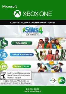 The Sims 4 - Seasons, Jungle Adventure, Spooky Stuff Xbox One (UK) cheap key to download