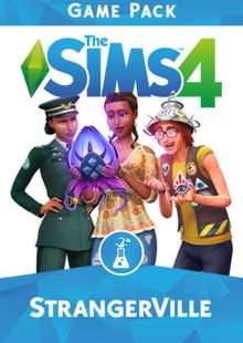 The Sims 4 StrangerVille Game Pack PC cheap key to download