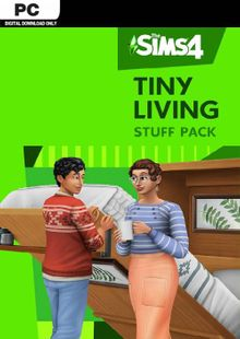 The Sims 4 - Tiny Living Stuff Pack PC clé pas cher à télécharger
