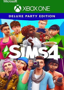 The Sims 4 Deluxe Party Edition Xbox One (UK) cheap key to download