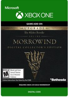 The Elder Scrolls Online Morrowind Collectors Edition Upgrade Xbox One cheap key to download