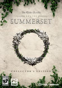 The Elder Scrolls Online Summerset Collectors Edition PC cheap key to download