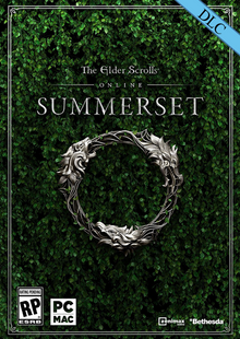 The Elder Scrolls Online Summerset Upgrade PC + DLC cheap key to download