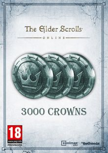 The Elder Scrolls Online Tamriel Unlimited 3000 Crown Pack PC billig Schlüssel zum Download