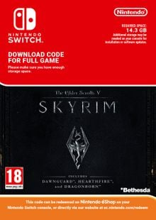 The Elder Scrolls V: Skyrim Nintendo Switch cheap key to download