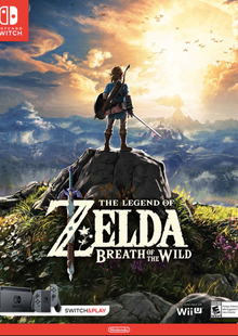 The Legend of Zelda Breath of the Wild Switch clé pas cher à télécharger